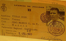 Puskas_player_licence